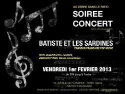 Concert 1er frvrier