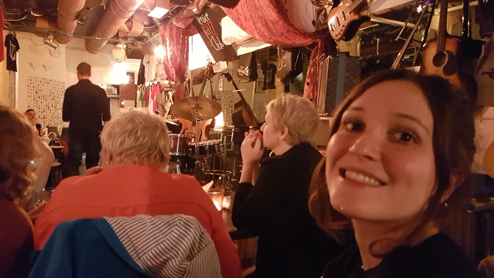 Francesca au concert
